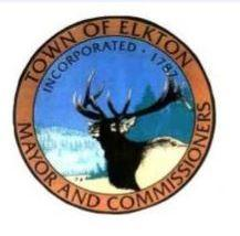 Town of Elkton Seal with Elkhead